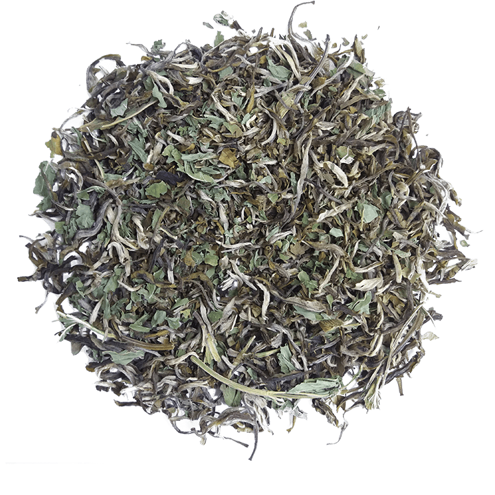 Бохэ Люй Ча - Зеленый Чай с Мятой