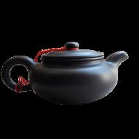 Чайник Керамический темно-коричневый