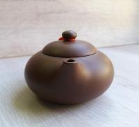 Чайник Керамический светло-коричневый_2