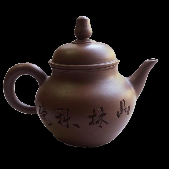 Чайник - Домик в Деревне - коричневый