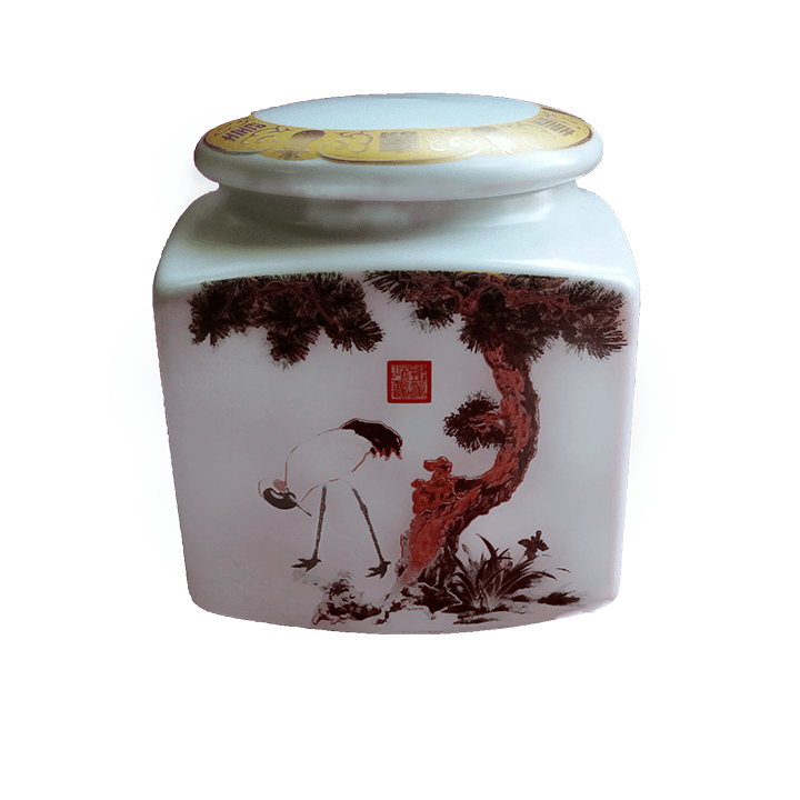 Банка под чай - Журавли