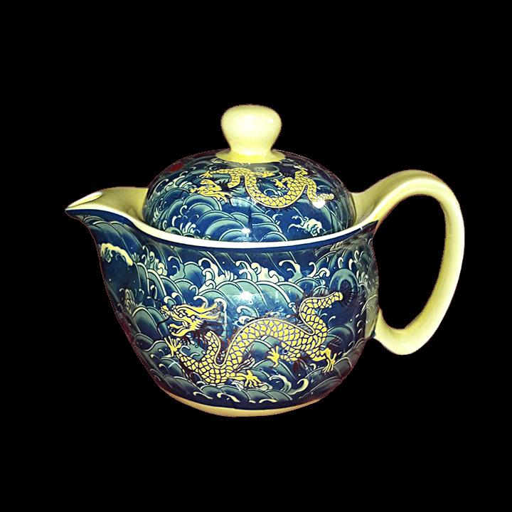 Чайный сервиз Дракон зеленый_3