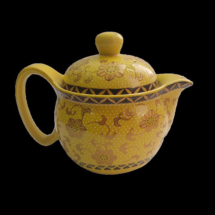 Чайный сервиз Симфония желтый_2