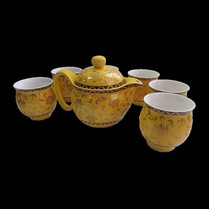 Чайный сервиз Симфония желтый