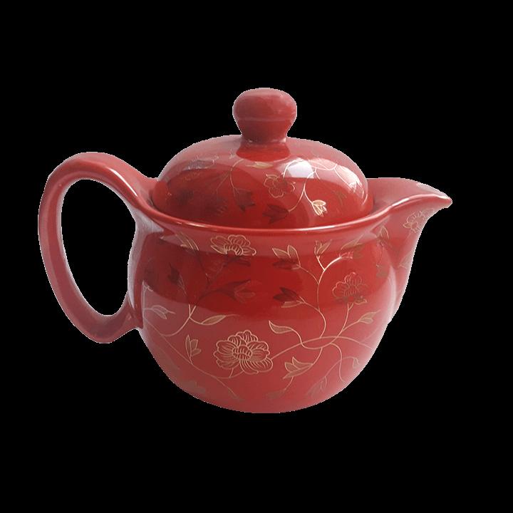 Чайный сервиз Симфония красный_2