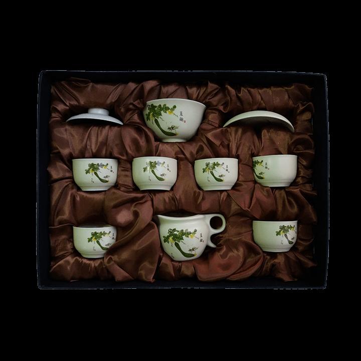 Чайный сервиз Идиллия - Огурцы_1