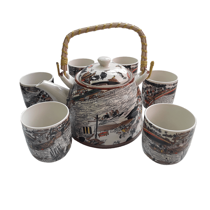 Чайный сервиз Китайцы