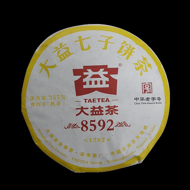 Шу Пуэр фабрика Мэнхай 2019г